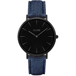 Cluse La Bohème Full Black/Denim Blue