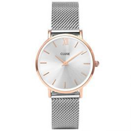 Cluse MinuitMesh Rose Gold/Silver CL30025