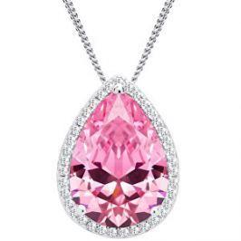 Preciosa Strieborný náhrdelník Rosa 5225 69
