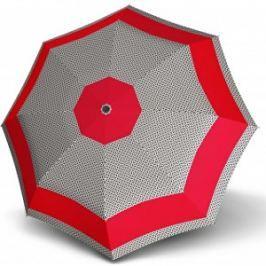 Doppler Dámsky mechanický dáždnik Mini Fiber Style 7264652102 červený