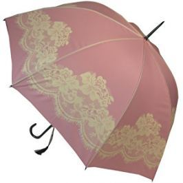 Blooming Brollies Dámsky dáždnik Pink Vintage lace