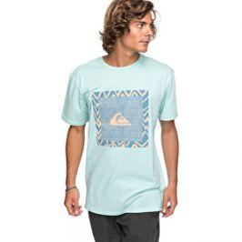 2990ba29fa95 Detail zboží · Quiksilver Pánske tričko Ss Classic Nano Spano Eggshell Blue  EQYZT04775-BFD0 S