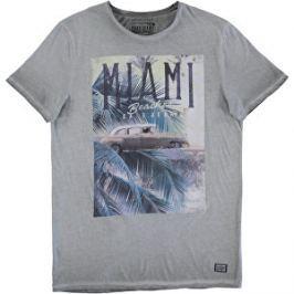Cars Jeans Pánske tričko Vibes 4125717 Antra M