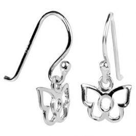 Brilio Silver Detské strieborné náušnice Motýliky 436 154 00242 04 - 0,30 g