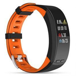 Deveroux Deveroux P5 fitness náramek - oranžový
