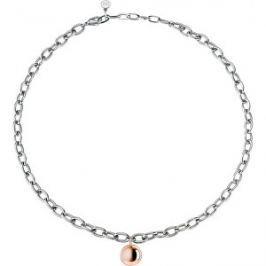 Morellato Oceľový bicolor náhrdelník Boule SALY01