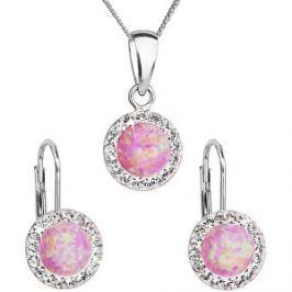 Detail zboží · Evolution Group Trblietavá súprava šperkov 39160.1   light  rose s.opal d9773f9d849