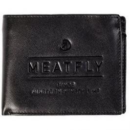 Meatfly Peňaženka Seaway Leather Wallet A Black