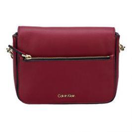 Calvin Klein Dámska kabelka Night Out Small Shoulder Bag Red Dahlia