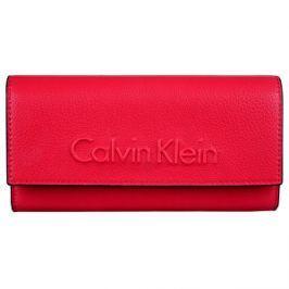 Calvin Klein Dámska peňaženka Edge Large Trifold Scarlet