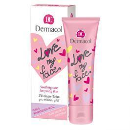 Dermacol Upokojujúci a zjednocujúci krém pre mladú pleť s vôňou hrušky a melónu Love My Face (Soothing Cream) 50 ml