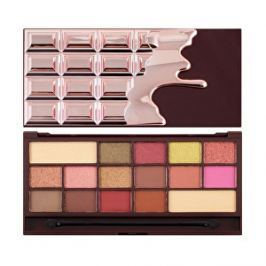 Makeup Revolution Paletka očných tieňov I Heart Makeup Chocolate Rose zlaté 22 g