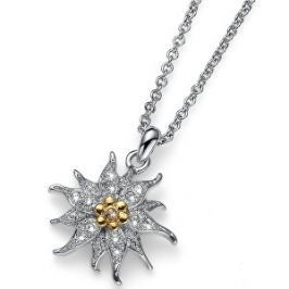 Oliver Weber Roztomilý náhrdelník Edelweiss 11819