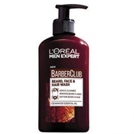 Loreal Paris Gél na fúzy, tvár a vlasy Barber Club Gel 3v1 (Beard, Face & Hair Wash) 200 ml