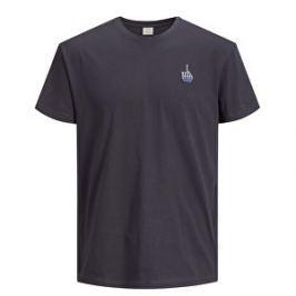 Jack&Jones Pánske tričko Jorcart Tee Ss Crew Neck 12137805 Asphalt S