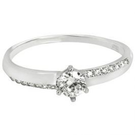 c5e12cc11 Detail zboží · Brilio Zlatý zásnubný prsteň s kryštálmi 229 001 00762 07 -  0,95 g 50