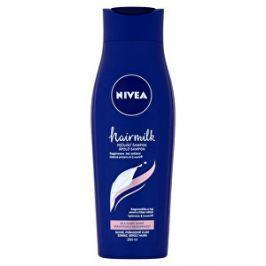 Nivea Ošetrujúci šampón pre jemné vlasy Hair milk ( Care Shampoo) - ZĽAVA - chýba ¼ obsahu 250 ml