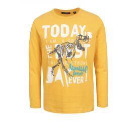 4207731ee17e Detail zboží · Žlté chlapčenské tričko s farebnou potlačou Blue Seven