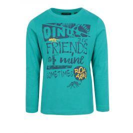 1155643ccaef Detail zboží · Modré chlapčenské tričko s potlačou a dlhým rukávom Blue  Seven