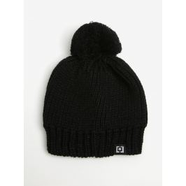 Čierna dámska zimná čiapka s brmbolcom Horsefeathers Alexa 095338968a1