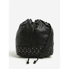Čierna vaková kabelka s cvokmi Meatfly Orphan b40bfa8dc49