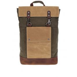 Béžovo-kaki unisex batoh Urban Bag