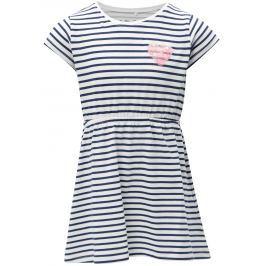 Modro-biele dievčenské šaty s flitrami 5.10.15.