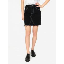 2a955c6b0fd2 Detail zboží · Čierna rifľová sukňa MISSGUIDED Barbie