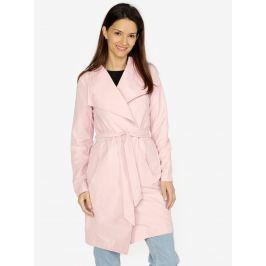 Ružový kabát VERO MODA Elina e7c680e10c7