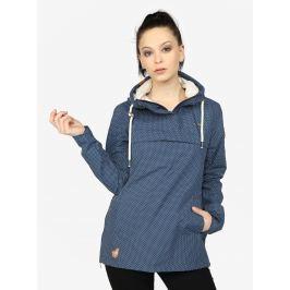 3dcb8db93bf7 Detail zboží · Modrá bodkovaná dámska vodovzdorná tenká bunda Ragwear