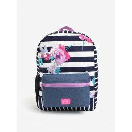 b9f0ead49c Detail zboží · Modro–biely dievčenský pruhovaný batoh s potlačou Tom Joule