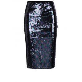 f111a96c0c24 Detail zboží · Čierno–fialová puzdrová sukňa s flitrami Miss Selfridge