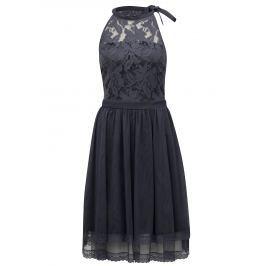 Detail zboží · Modrosivé šaty s čipkovaným topom VILA Zinna 7a9b83da743