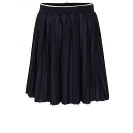 Tmavomodrá dievčenská plisovaná sukňa North Pole Kids