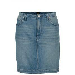 914462a9ea27 Modrá rifľová sukňa s vysokým pásom Lee Modrá rifľová sukňa s vysokým pásom  Lee. 46 €. Čierna koženková sukňa s ozdobnými plastickými detailmi ONLY  Tough ...