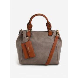 Hnedá kabelka s puzdrom Bessie London