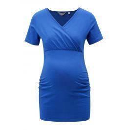 Modré tehotenské tričko Dorothy Perkins Maternity
