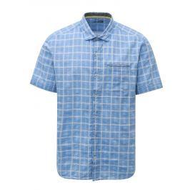 a6e50213f08d Detail zboží · Modrá pánska regular fit vzorovaná košeľa s.Oliver