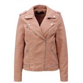 d574ee57e6 Recenzia Tmavohnedá dámska kožená bunda kapucňou KARA Dominika B