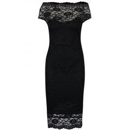 Recenzia Čierne puzdrové čipkované šaty ZOOT ec494223211