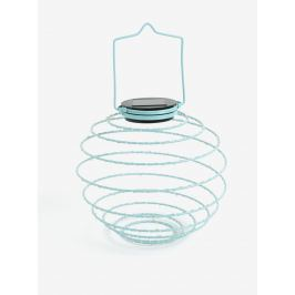Mentolová LED solárna dekorácia Kaemingk
