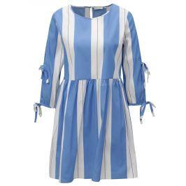 5e941e016df2 Detail zboží · Bielo–modré pruhované šaty Rich   Royal