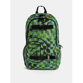 Recenzia Modro-zelený pánsky kockovaný batoh Meatfly Basejumper 3 20 l 27e3c6a5d47