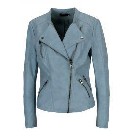 faa8dafb2b Recenzia Modrá koženková bunda ONLY Ava