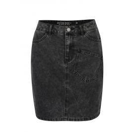 5fa0a5dc0c22 Čierna rifľová sukňa Noisy May Sophia