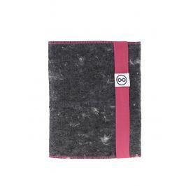 """""""Dobrý"""" ružovo-sivý zápisník FOREWEAR"""