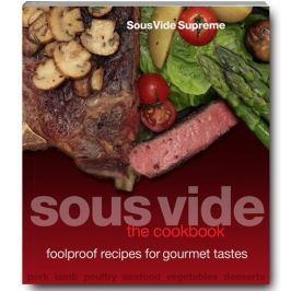 SousVide Supreme Sous vide The Cookbook Sous Vide Supreme