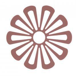 Zone Silikónová podložka pod hrnce kvetina 15,8 cm červená