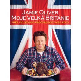 Kuchárka Moje Velká Británie Jamie Oliver