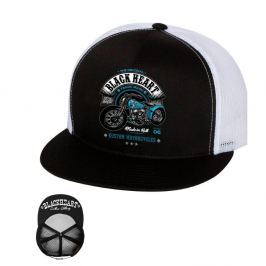 BLACKHEART Style and Power Trucker biela